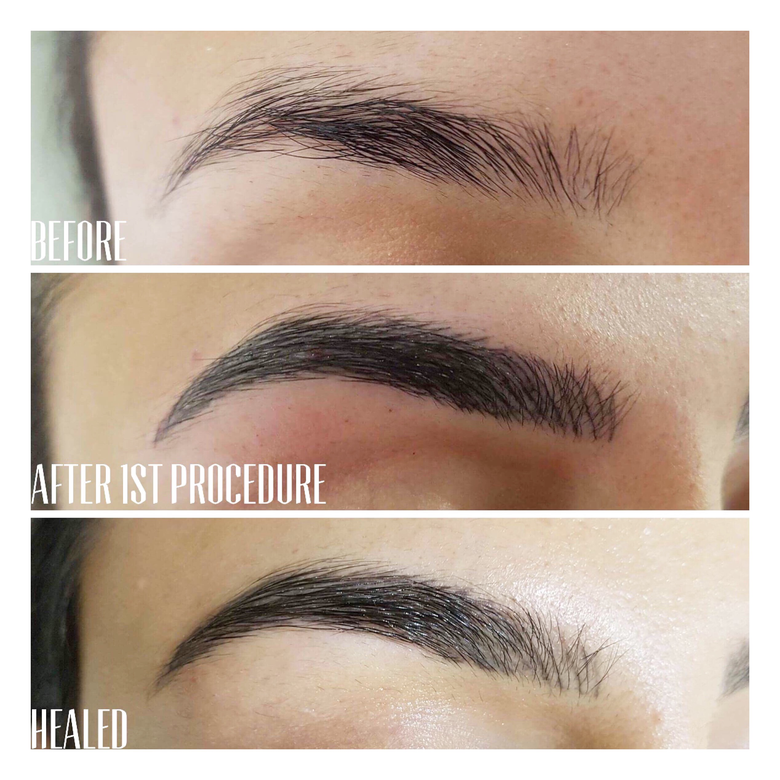 semi permanent makeup - wisteria lane